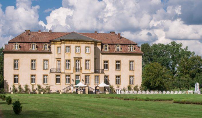 Aufbau für freie Trauung Hochzeit Möhler