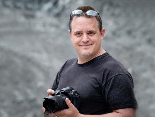 Holger Becker mit Kamera
