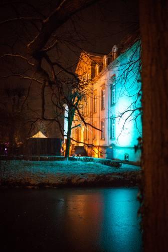 Illumination vom Schloss Möhler