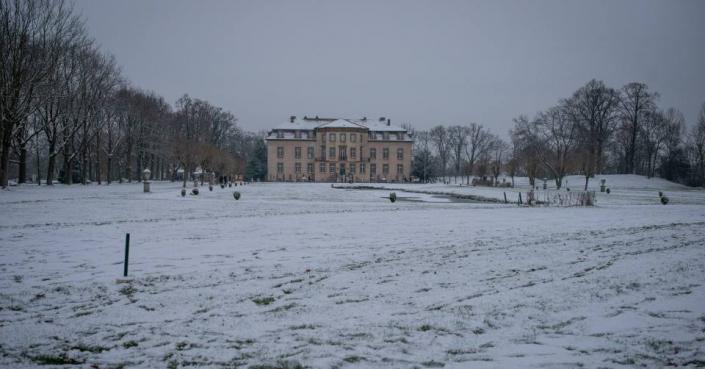 Schloss Möhler im Winterkleid