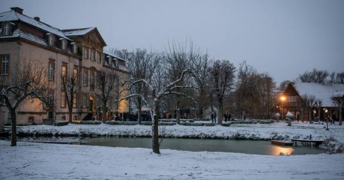 Weihnachtliche Stimmung am Schloss Möhler