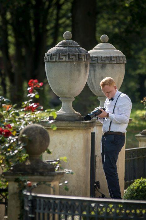 Fotograf bei einer freien Trauung Location Schloss Möhler