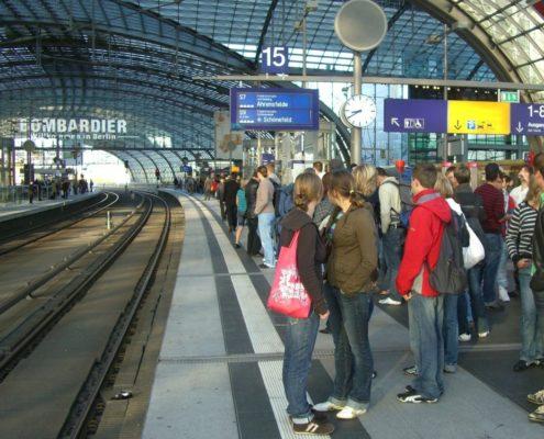 Transfer Tagesausflug am Bahnhof unterwegs zum Schloss Möhler