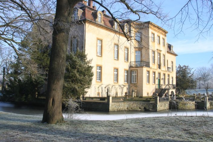 Schloss Möhler im Winter