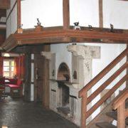 Alter Kamin im Gesindehuis auf Schloss Möhler