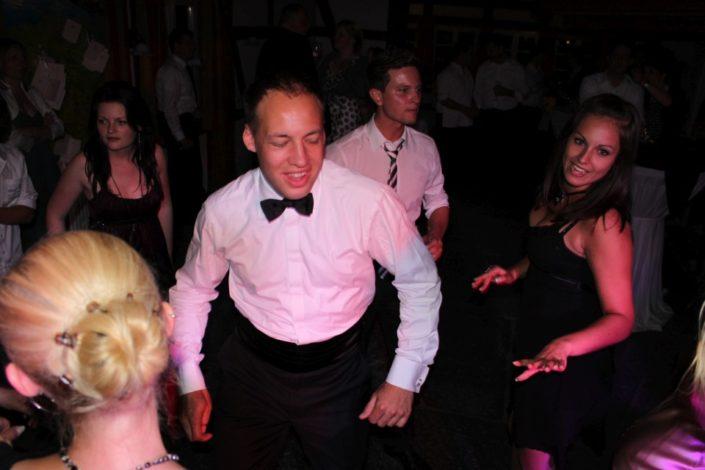 Spaß macht es bei Partys auf Schloss Möhler