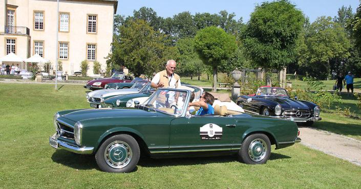 Oldtimer Event auf Schloss Möhler