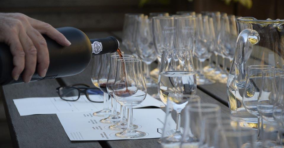 Weihnachtliche Weinprobe Webseite Schloss Möhler